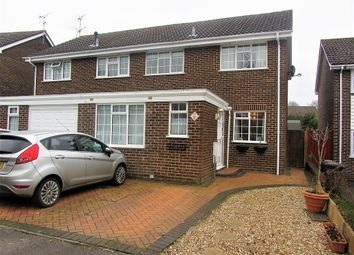 Thumbnail 3 bed semi-detached house for sale in Fyeford Close, Rownhams, Southampton