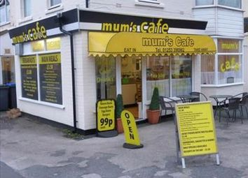 Thumbnail Restaurant/cafe to let in Mums Caf�, 16 Plymouth Road, Blackpool