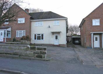 Thumbnail 3 bed semi-detached house for sale in Stourbridge, Wollaston, Kent Road