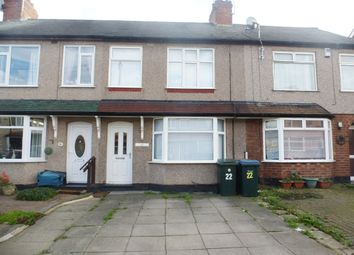 Thumbnail 3 bed terraced house to rent in Gospel Oak Road, Holbrooks, Coventry