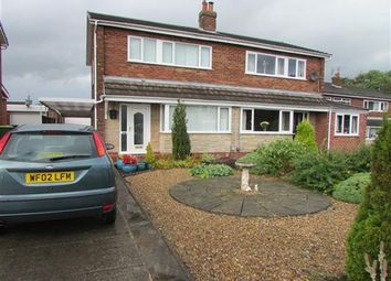 Thumbnail 3 bed property for sale in Oban Crescent, Preston