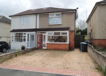 Thumbnail 3 bed semi-detached house for sale in Wroxham Road, Branksome