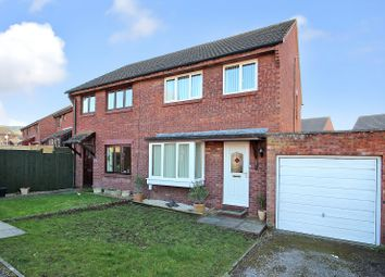 Thumbnail 3 bed semi-detached house for sale in Arundell Close, Westbury