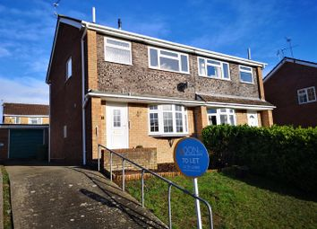 Thumbnail 3 bedroom semi-detached house to rent in Stuart Avenue, Chepstow