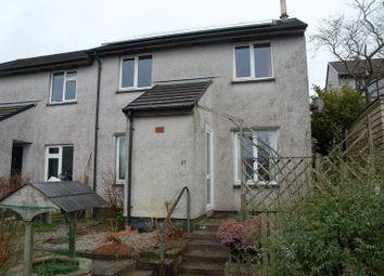 Thumbnail 2 bed end terrace house to rent in Pendour Park, Lostwithiel