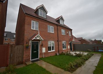 Thumbnail 4 bed semi-detached house for sale in Bickerton Close, Hamilton, Leicester