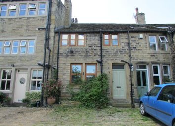 Thumbnail 3 bedroom end terrace house for sale in Exchange, Honley, Holmfirth