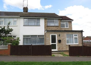 Thumbnail 4 bedroom end terrace house for sale in Ashridge Walk, Yaxley, Peterborough