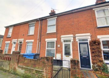 Thumbnail 2 bed terraced house for sale in Roseberry Road, Ipswich