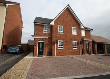 Thumbnail 4 bed semi-detached house to rent in Malbank Waters, Nantwich