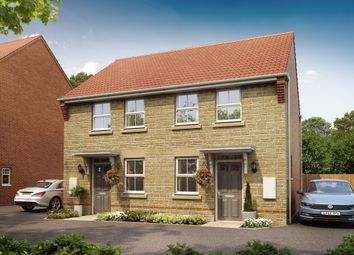 "Thumbnail 2 bed semi-detached house for sale in ""Wilford"" at Oxford Road, Calne"