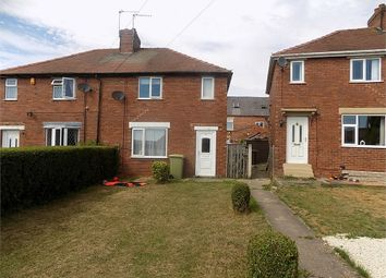 Thumbnail 2 bed semi-detached house to rent in Sandy Close, Whitwell, Worksop, Nottinghamshire