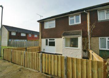 Thumbnail 3 bedroom end terrace house to rent in Bredgar Close, Ashford, Kent