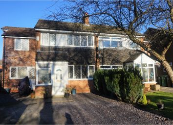 Thumbnail 4 bed semi-detached house for sale in Troon Close, Stockport