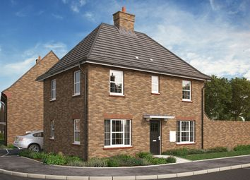 "Thumbnail 3 bed detached house for sale in ""The Sharnbrook Corner"" at Park Crescent, Stewartby, Bedford"