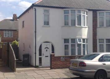 Thumbnail 3 bed semi-detached house to rent in Neville Road, Western Park, Leicester