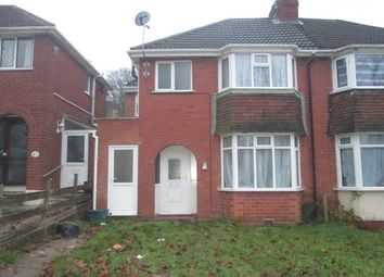 Thumbnail 3 bed semi-detached house to rent in Rockford Road, Great Barr