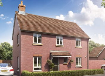 "Thumbnail 3 bed detached house for sale in ""The Beckham "" at Ringwood Road, Verwood"