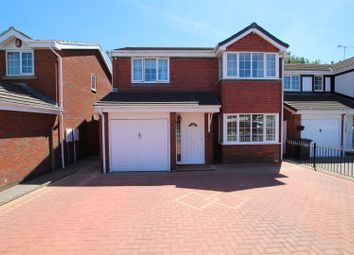 Thumbnail 5 bed detached house for sale in Knightsbridge Way, Stretton, Burton-On-Trent