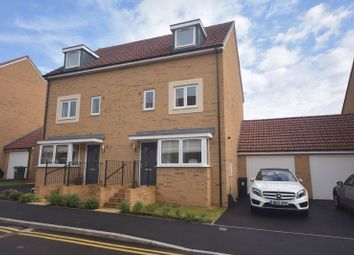 Thumbnail 4 bed semi-detached house for sale in Newlands Drive, Emersons Green, Bristol