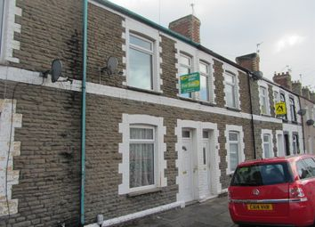 Thumbnail 3 bed terraced house for sale in Dorset Street, Cardiff