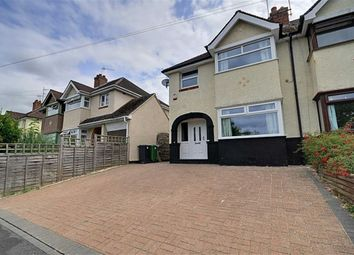 Thumbnail 3 bed semi-detached house to rent in Ronkswood Crescent, Worcester