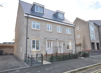 Thumbnail 3 bed semi-detached house for sale in Cowleaze, Greenfields, Swindon, Wiltshire