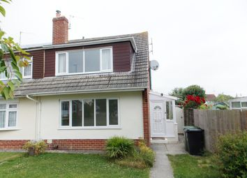 Thumbnail 3 bed semi-detached bungalow to rent in Norris Close, Chiseldon, Swindon