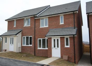 Thumbnail 3 bed semi-detached house to rent in Bownder Treveli, Lane, Newquay