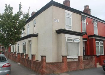 Thumbnail 3 bed end terrace house for sale in Preston Road, Levenshulme, Manchester