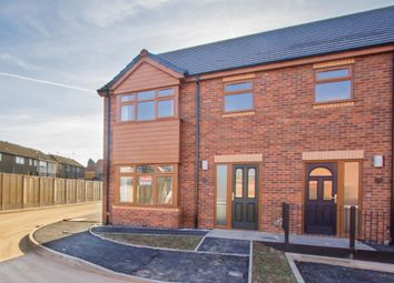 Thumbnail 3 bedroom end terrace house for sale in Nursery Road, Leicester