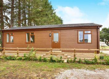 Thumbnail 2 bedroom mobile/park home for sale in Holt Road, Little Snoring, Fakenham