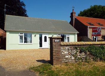 Thumbnail Detached bungalow for sale in Massingham Road, Castle Acre, King's Lynn