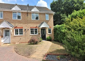 Thumbnail 2 bed end terrace house for sale in Masefield Mews, Dereham