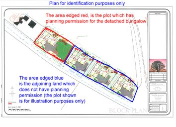 Thumbnail Land for sale in Building Plot And Adjoining Land, Park Road, Silverdale