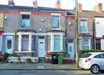 Thumbnail 2 bed terraced house to rent in Harrowby Road, Birkenhead, Birkenhead