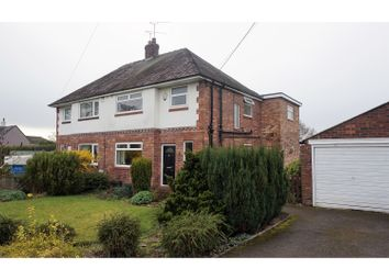 Thumbnail 3 bed semi-detached house for sale in Main Road, Shavington