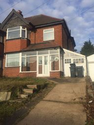Thumbnail 3 bedroom semi-detached house to rent in Eastbourne Avenue, Birmingham