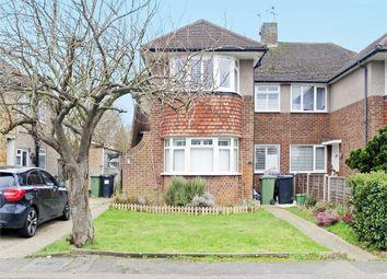 Thumbnail 3 bed maisonette for sale in Stanton Close, West Ewell, Epsom