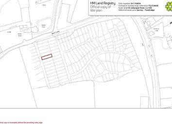 Thumbnail Land for sale in Byers Lane, South Godstone, Godstone