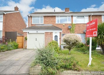 Thumbnail 3 bed semi-detached house for sale in Mancetter Road, Shirley, Solihull
