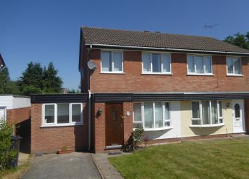 Thumbnail 4 bed semi-detached house for sale in Balmoral Crescent, Oswestry