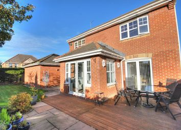 Thumbnail 4 bed detached house for sale in Norham Drive, Morpeth