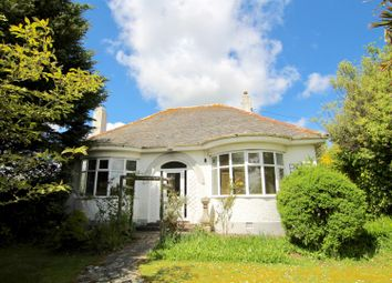Thumbnail 4 bed detached bungalow for sale in Rose-An-Grouse, Canonstown, Hayle