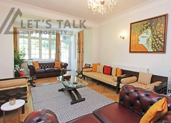 Thumbnail 6 bed detached house to rent in Basing Hill, London