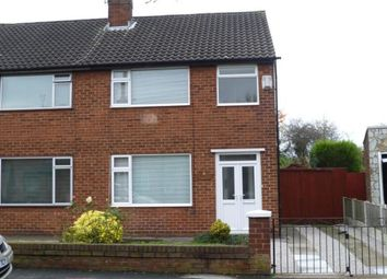 Thumbnail 3 bed semi-detached house for sale in Sinclair Avenue, Whiston, Prescot