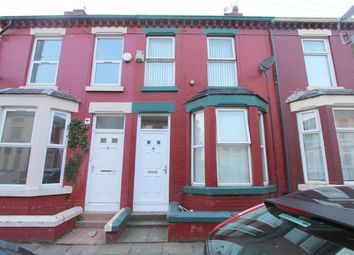 Thumbnail 3 bed terraced house for sale in Ingrow Road, Kensington, Liverpool