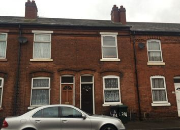 Thumbnail 2 bedroom terraced house to rent in Prince Street, Walsall, West Midlands