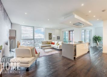 Thumbnail 4 bed flat for sale in Pinto Tower, Nine Elms Point, 4 Hebden Place