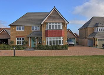 Thumbnail 4 bed detached house for sale in Byatt Gardens, Buntingford